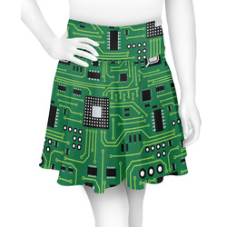 Circuit Board Skater Skirt (Personalized)