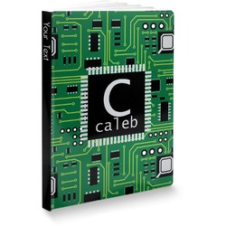 Circuit Board Softbound Notebook (Personalized)