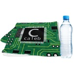 Circuit Board Sports & Fitness Towel (Personalized)