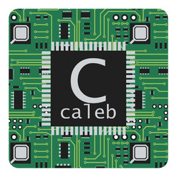 Circuit Board Square Decal - Custom Size (Personalized)