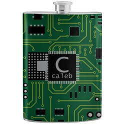 Circuit Board Stainless Steel Flask (Personalized)