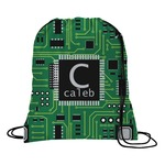 Circuit Board Drawstring Backpack (Personalized)