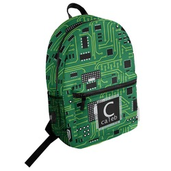 Circuit Board Student Backpack (Personalized)