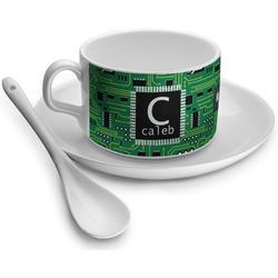 Circuit Board Tea Cup - Single (Personalized)