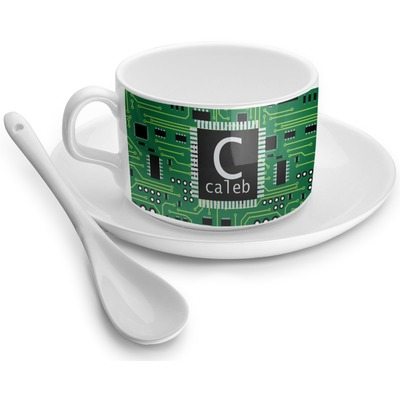 Circuit Board Tea Cups (Personalized)