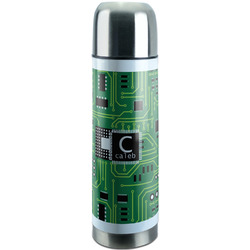 Circuit Board Stainless Steel Thermos (Personalized)