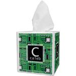 Circuit Board Tissue Box Cover (Personalized)