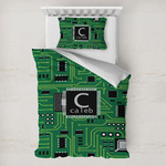 Circuit Board Toddler Bedding w/ Name and Initial