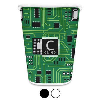 Circuit Board Waste Basket (Personalized)
