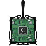 Circuit Board Trivet with Handle (Personalized)
