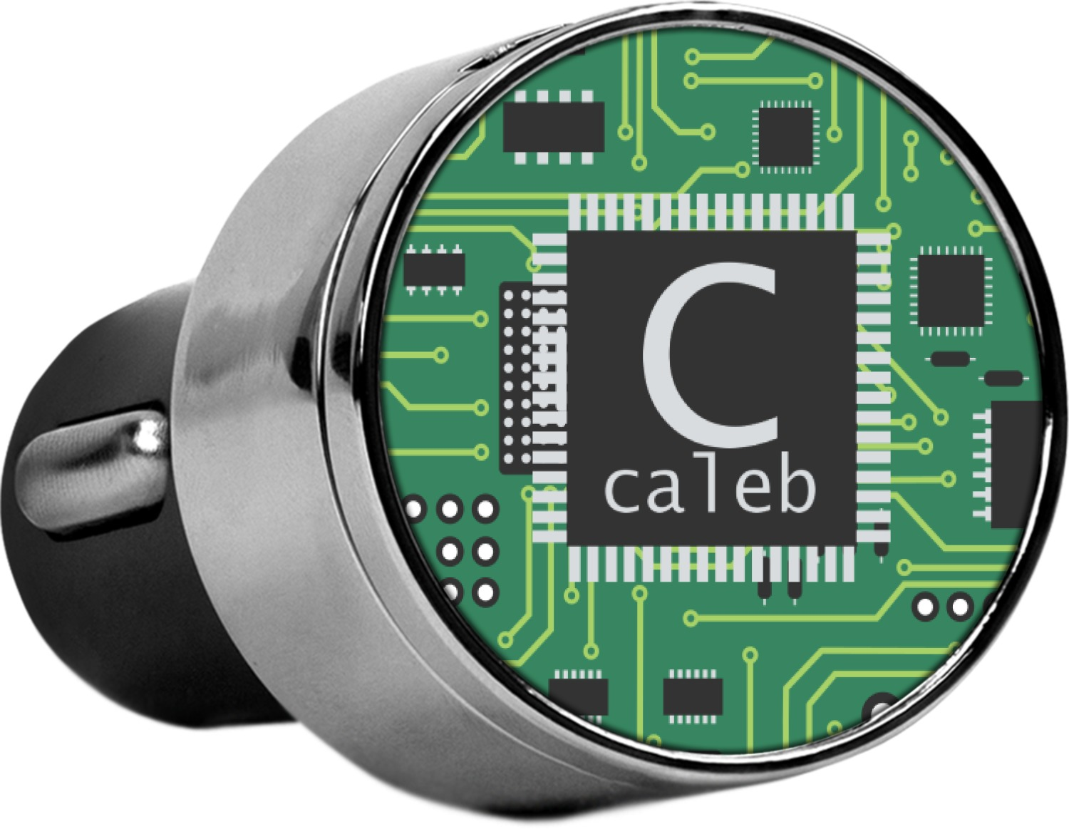 Circuit Board Usb Car Charger Personalized Youcustomizeit