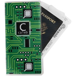 Circuit Board Travel Document Holder