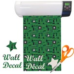 Circuit Board Pattern Vinyl Sheet (Re-position-able)
