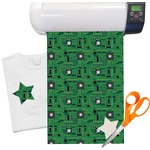 "Circuit Board Heat Transfer Vinyl Sheet (12""x18"")"