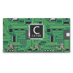Circuit Board Wall Mounted Coat Rack (Personalized)
