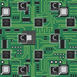 Circuit Board Wrapping Paper (Personalized)