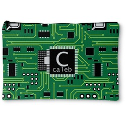 Circuit Board Zipper Pouch (Personalized)