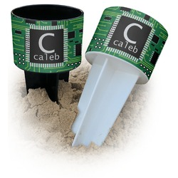 Circuit Board Beach Spiker Drink Holder (Personalized)