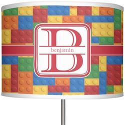 "Building Blocks 13"" Drum Lamp Shade (Personalized)"