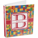 Building Blocks 3-Ring Binder (Personalized)