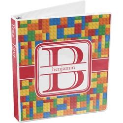 Building Blocks 3-Ring Binder (Personalized)