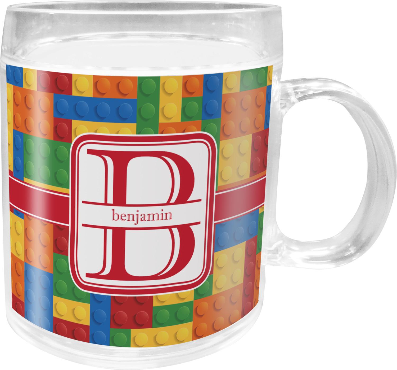 Building Blocks Acrylic Kids Mug Personalized You