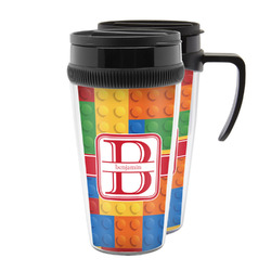 Building Blocks Acrylic Travel Mugs (Personalized)