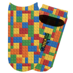 Building Blocks Adult Ankle Socks (Personalized)