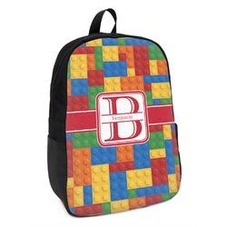 Building Blocks Kids Backpack (Personalized)