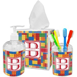 Building Blocks Bathroom Accessories Set (Personalized)