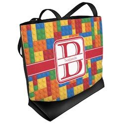 Building Blocks Beach Tote Bag (Personalized)