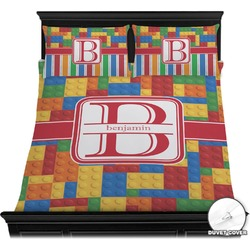 Building Blocks Duvet Cover Set (Personalized)
