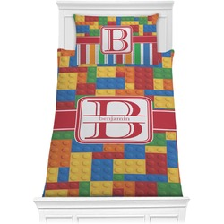 Building Blocks Comforter Set - Twin XL (Personalized)