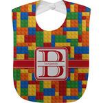 Building Blocks Baby Bib (Personalized)