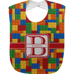 Building Blocks Baby Bib (Personalized)