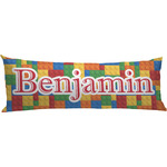 Building Blocks Body Pillow Case (Personalized)