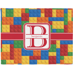 Building Blocks Placemat (Fabric) (Personalized)