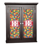 Building Blocks Cabinet Decal - Custom Size (Personalized)