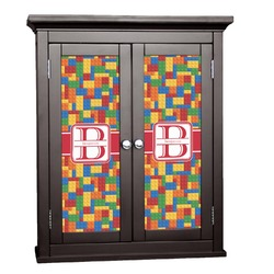 Building Blocks Cabinet Decal - XLarge (Personalized)
