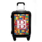 Building Blocks Carry On Hard Shell Suitcase (Personalized)