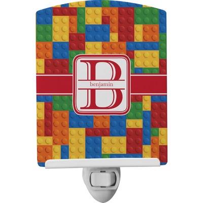 Building Blocks Ceramic Night Light (Personalized)