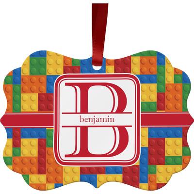 Building Blocks Ornament (Personalized)