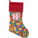 Building Blocks Christmas Stocking (Personalized)