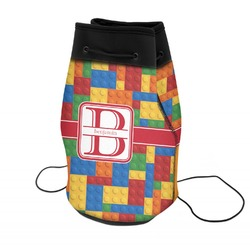 Building Blocks Neoprene Drawstring Backpack (Personalized)