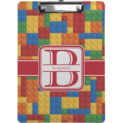 Building Blocks Clipboard (Personalized)