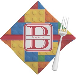 Building Blocks Napkins (Set of 4) (Personalized)