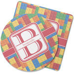 Building Blocks Rubber Backed Coaster (Personalized)