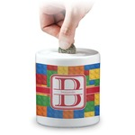 Building Blocks Coin Bank (Personalized)