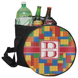 Building Blocks Collapsible Cooler & Seat (Personalized)