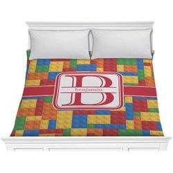 Building Blocks Comforter - King (Personalized)